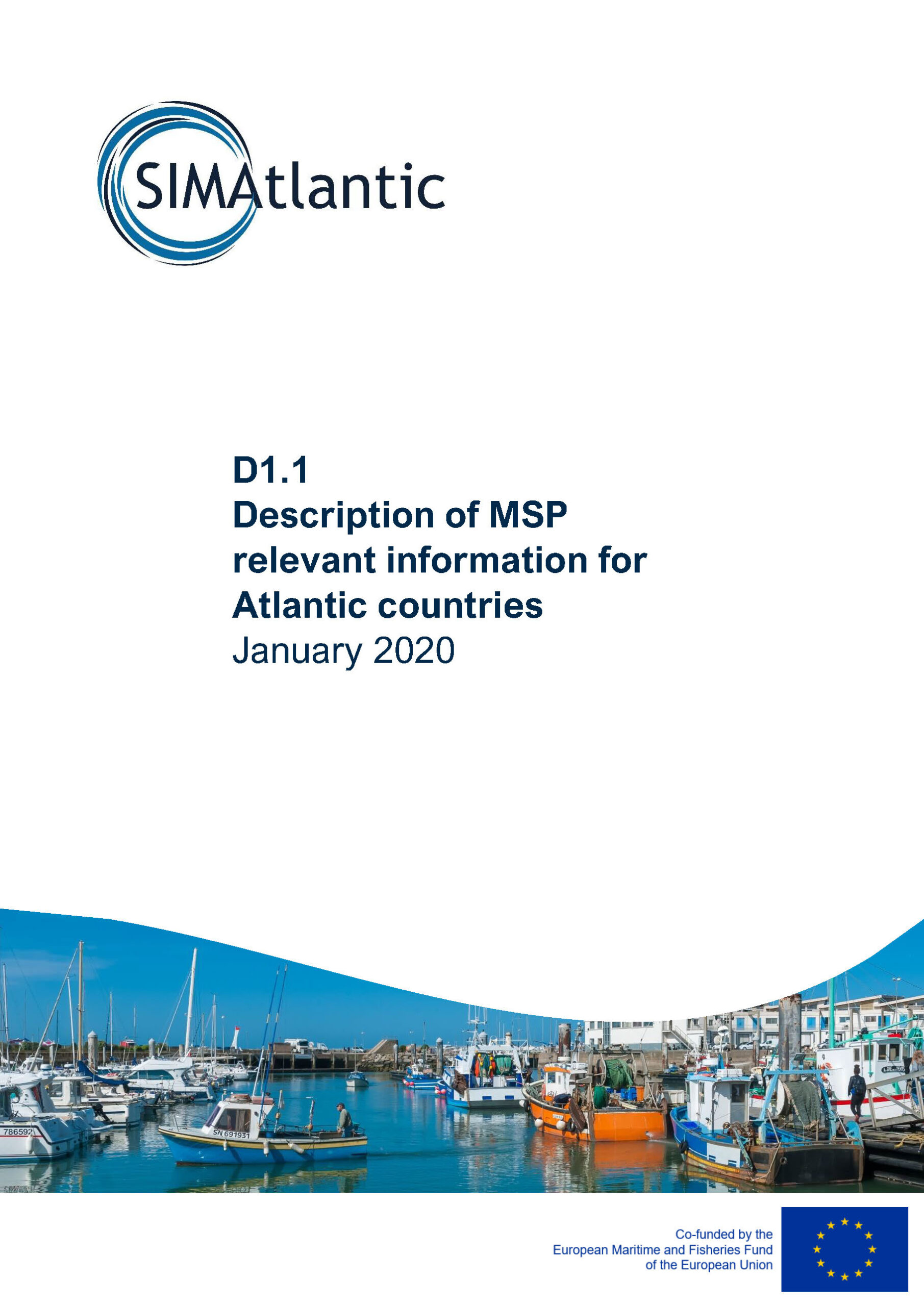 D1.1 Description of MSP relevant information for Atlantic countries