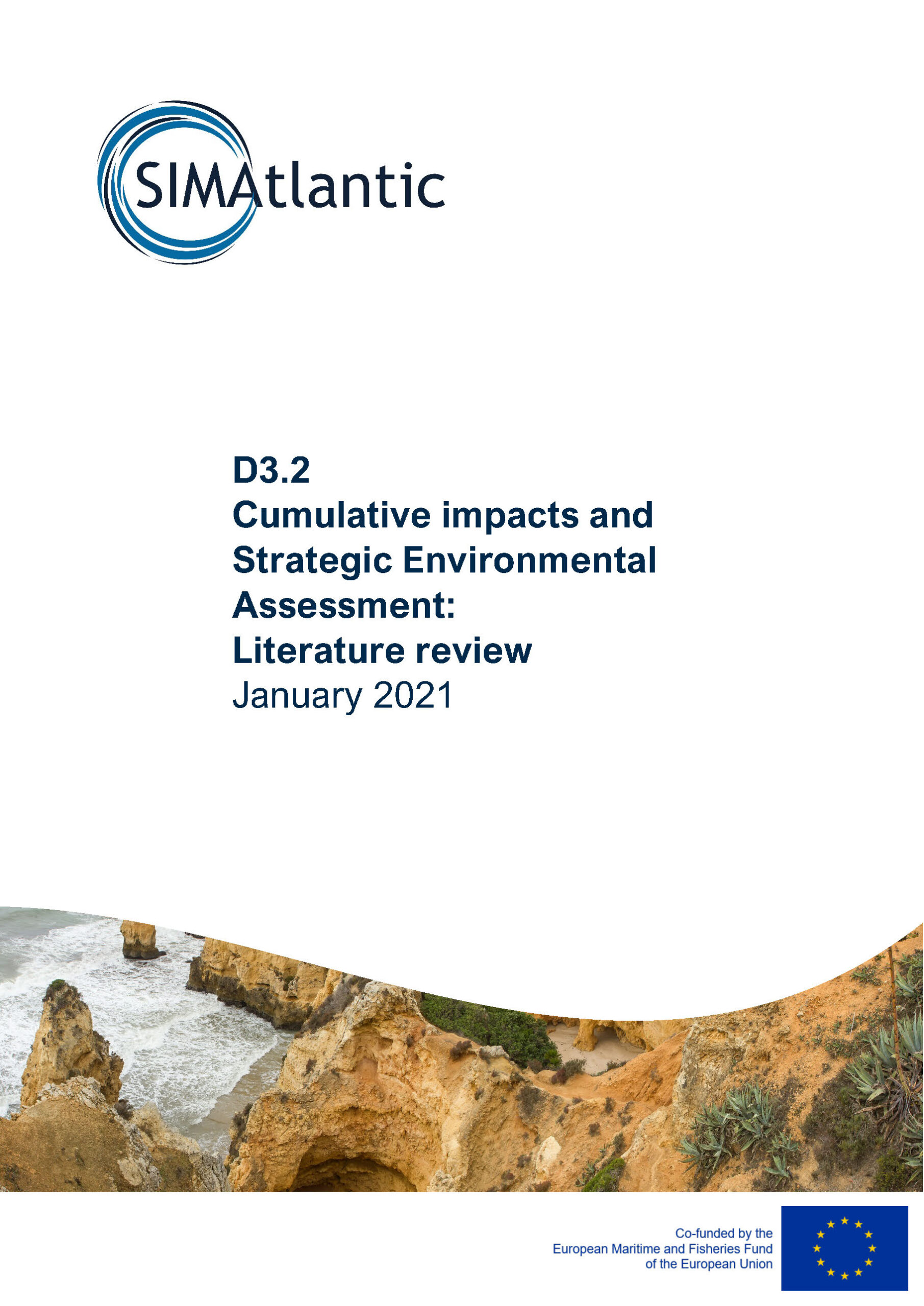 D3.2 Literature review on cumulative impacts and Strategic Environmental Assessment